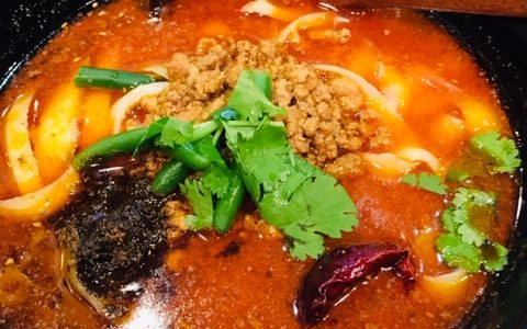 刀削麺中華料理朝霞(とうしょうめんちゅうかりょうりあさか)でランチ