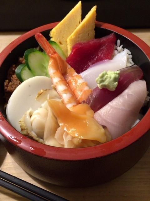 半蔵門の一番町鮨勝の海鮮丼